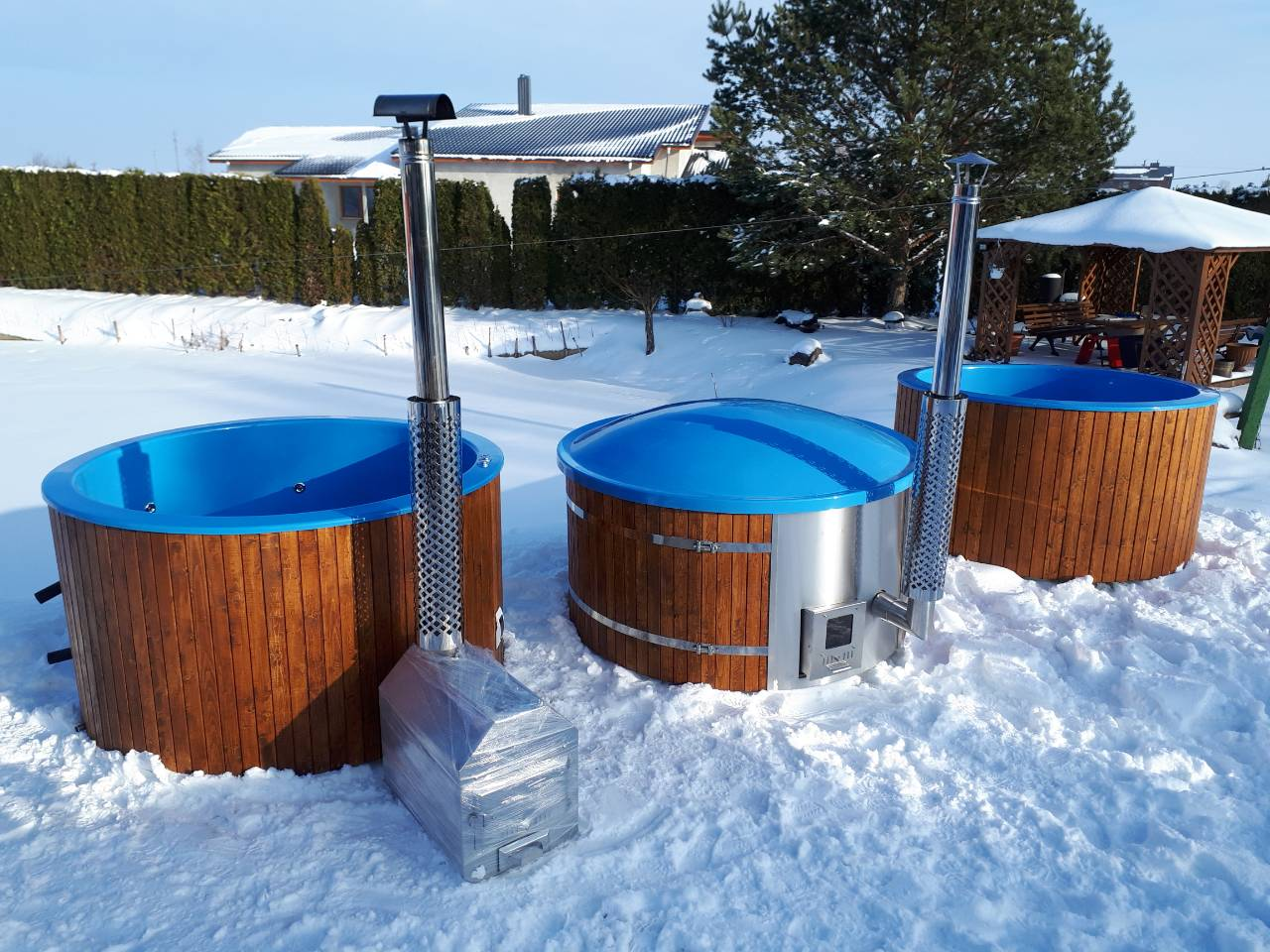 whirlpool im schnee
