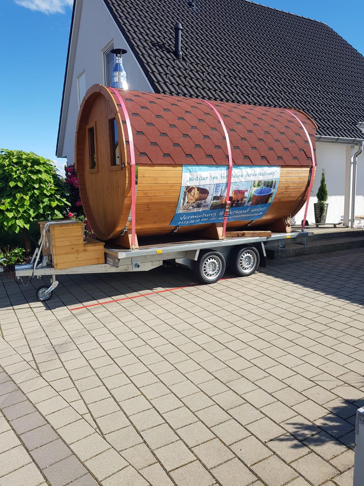 Mobiles Saunafass